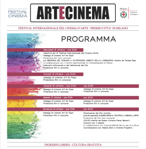 Artecinema programma